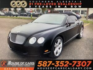 2007 Bentley Continental GTC / Navi / Leahter /  Bluetooth