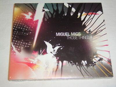 CD Miguel Migs Those Things (2007) Digipak Sealed Neu OVP # S1