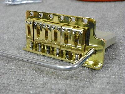 Charvel Brass V Tremolo Bridge Fits Vintage Charvel/Jackson