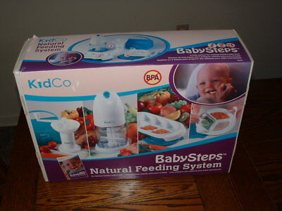 Kidco Baby Steps Straightforward Feeding System healty food processor containers/blender