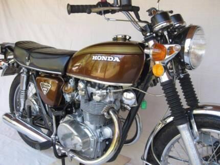 1971 Honda CB450 K5 1670 miles = 3000 kms