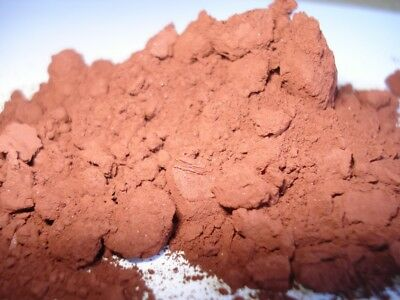 Red iron oxide Fe2O3 powder 1kg (200% pure!...joking!)