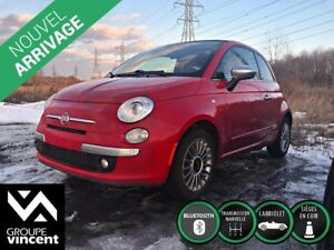 2013 Fiat 500 500c LOUNGE**CONVERTIBLE**