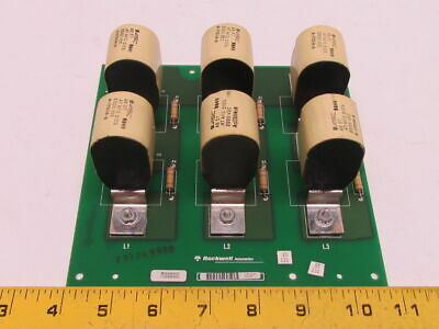 Rockwell Automation 173285 Rev 01 Capacitor Board Assembly 2000vdc A-173114-8
