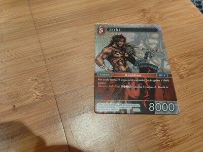 Final Fantasy TCG Jecht 1-015L Card FOIL