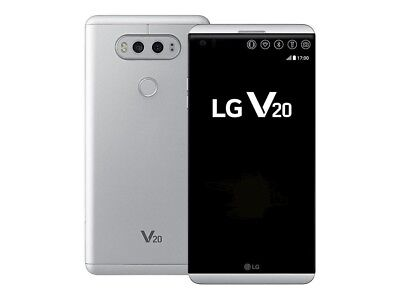 Unlocked LG V20 H910A - 64GB 4G LTE (AT&T, T-Mobile) GSM World Phone - Silver