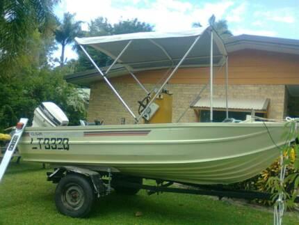 Clark Challenger Abalone aluminium boat Mount Sheridan Cairns City Preview