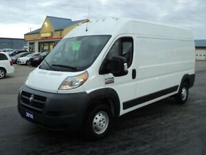 2016 RAM ProMaster 2500 High Roof Cargo 3.6L 3Pass