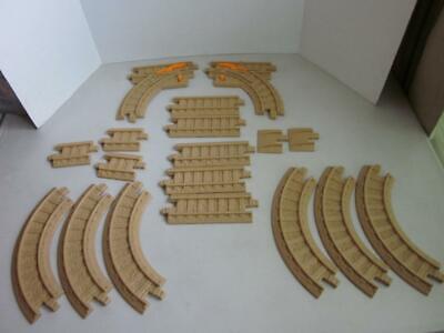 Fisher Price Geo Trax beige  train track