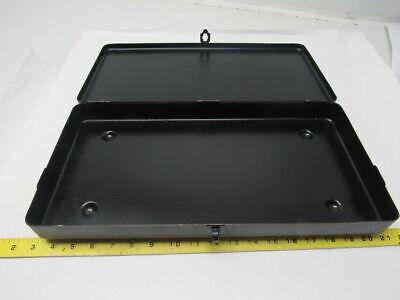 Strong Metal Tool Storage Box Tooling Craft Sewing 17-12 X 9 X 2