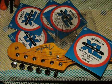 Guitar Parts and Guitar strings 0 Kensington South Perth Area Preview