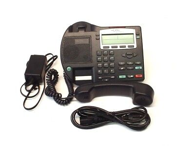 - Nortel Networks IP Phone 2002 Phase 2, Multi-Line, LCD, w/Handset & AC Adapter