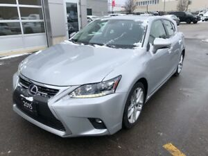 2015 Lexus CT200 | LOW KM, Backup Camera, Moonroof