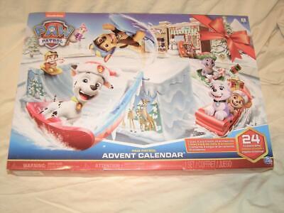 2018 Nickelodeon Paw Patrol Advent Calendar Figurines 24 Pieces - New & Sealed
