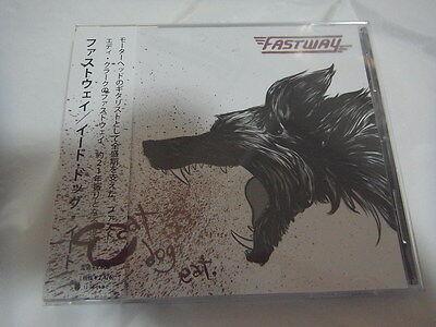 Fastway Eat Dog Eat Japan 1St Press W Obi Motorhead Fast Eddie Clarke Nwobhm