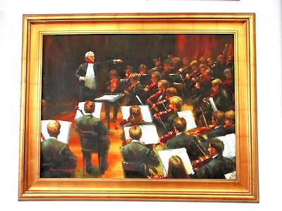 Картина Original Signed Oil Painting The