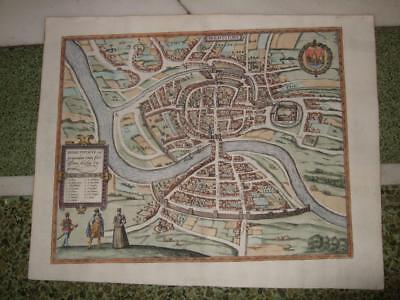 1575,RARE XL-BRISTOL/BRIGHTSTOWE,BRAUN+HOGENBERG,GREAT BRITAIN,UNITED KINGDOM