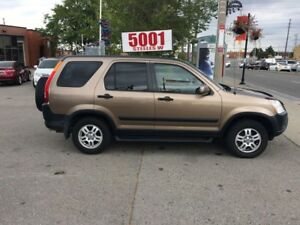 2004 Honda CR-V AUTO,AWD,SAFETY+3YEARS WARRANTY INCLUDED