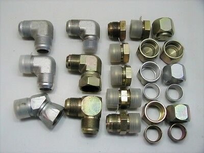 12 1 Parker Hydraulic Jic Flared Tube Fittings
