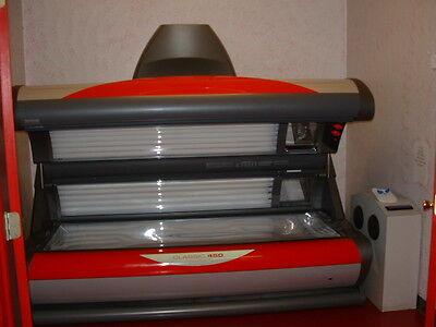 Ergoline 450 classic softgrey profi Solarium Sonnenbank            Porta de sol