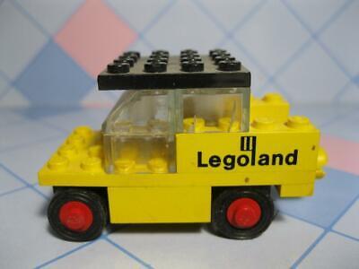 1970s Legoland LEGO Vintage Yellow Tug 1973 FORKLIFT VEHICLE?