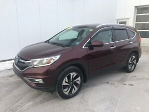 2015 Honda CR-V Touring Luxurious and Extended Warranty till 200
