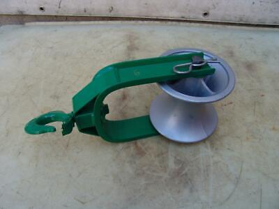 Greenlee 6 Inch Sheave Cable Puller Tugger 4000lbs Nice Shape 6