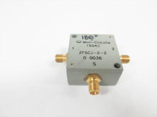 MINI-CIRCUITS ZFSCJ-2-2 POWER SPLITTER/COMBINER 2 WAY 0.01 TO 20 MHZ ZFSCJ-2-2-S