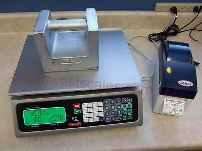 Torrey Pc-80l 80 X .02 Lb Price Computing Scale W Godex Dt2 Printer Tor Rey