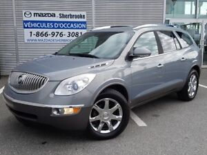 2008 Buick Enclave CXL CUIR DVD AWD 7 PASSAGERS