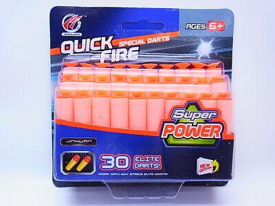 50550 | 30 Stück Schaumstoff-Pfeile Nachfüllpackung für Kinder Shotgun NEU OVP