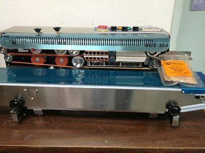 Frd-1000s Stainless Steel Horizontal Band Sealerink Coder Machine 110v
