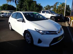 2013 Toyota Corolla ZRE182R Ascent S-CVT White 7 Speed Constant Variable Hatchback West Ballina Ballina Area Preview