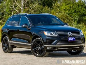 2017 Volkswagen Touareg Wolfsburg Edition 3.6L - ACCIDENT FREE|3