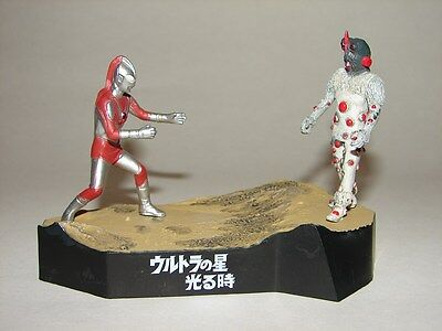 Ultraman Jack Vs Knuckle Seijin Chase Figure From Ultraman Diorama Set  Godzilla