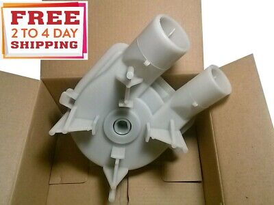 NEW ROPER WASHING MACHINE WATER DIRECT DRIVE 2 PORT DRAIN PUMP ( SEE MODEL LIST)