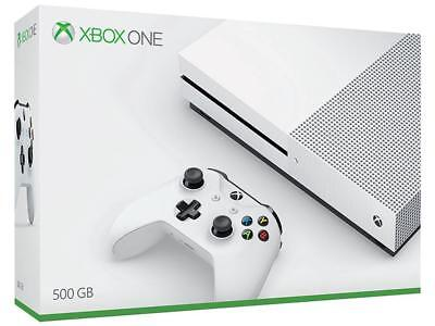 Microsoft Xbox One S 500GB Pattern Console  Brand New