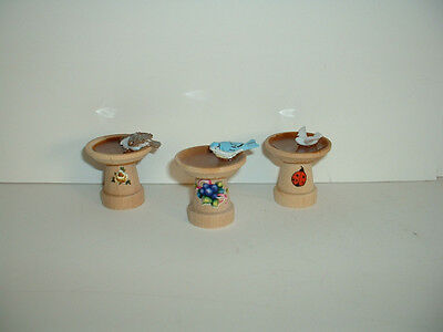 1188 Small Bird-Bath ~ Great Displayed in any Dept 56 Village Scene