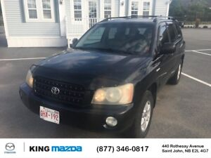 2003 Toyota Highlander Limited LEATHER...HEATED  SEATS... SUNROO