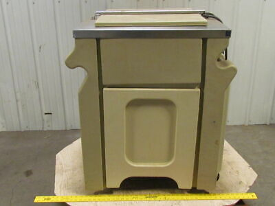 Lincoln 9215w Mobile Refrigerator Cooler Tested To 33f Interior Chest 120 Vac