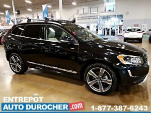 2017 Volvo XC60 T5 Special Edition 4X4, NAVIGATION, 6 ANS/160000