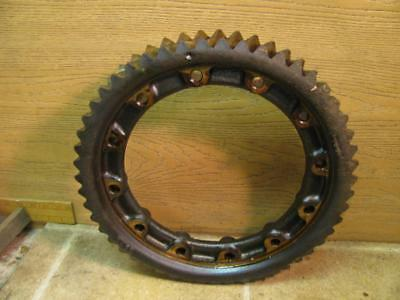 1923 Fordson Model F Tractor Bronze Brass Worn Ring Gear
