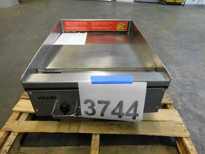 3744 Test Unit - Vulcan Rapid Recovery Electric Griddle Model Rre24e-1