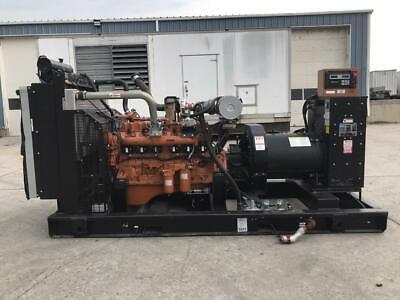 250 Kw Generac Generator Set Year 2009 12 Lead 435 Hours 277480 Volts