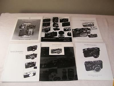 6 - Tamarkin Photographica Camera Photo Auction Catalogs