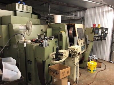 1990 Okuma Cnc Vertical Machining Center Lc20 4-axis Simulturn