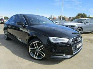 2018 Audi A3 8V MY18 S Tronic Black 7 Speed Sports Automatic Dual Clutch Sedan
