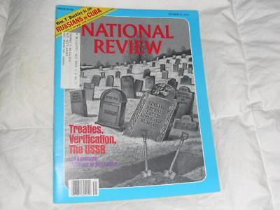 National Review Magazine   October 12 1979   Margaret Thatchers Unpopularity