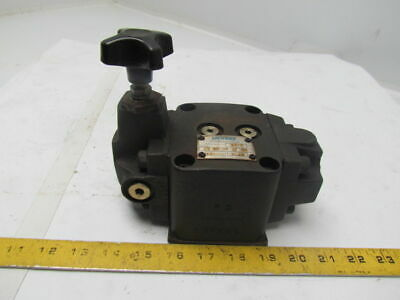 Eaton Vickers F3-xg-06-1f-30 Manual Pressure Reducing Valve For Fire Resistant