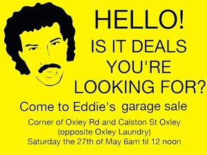 Garage Sale Oxley Brisbane South West Preview